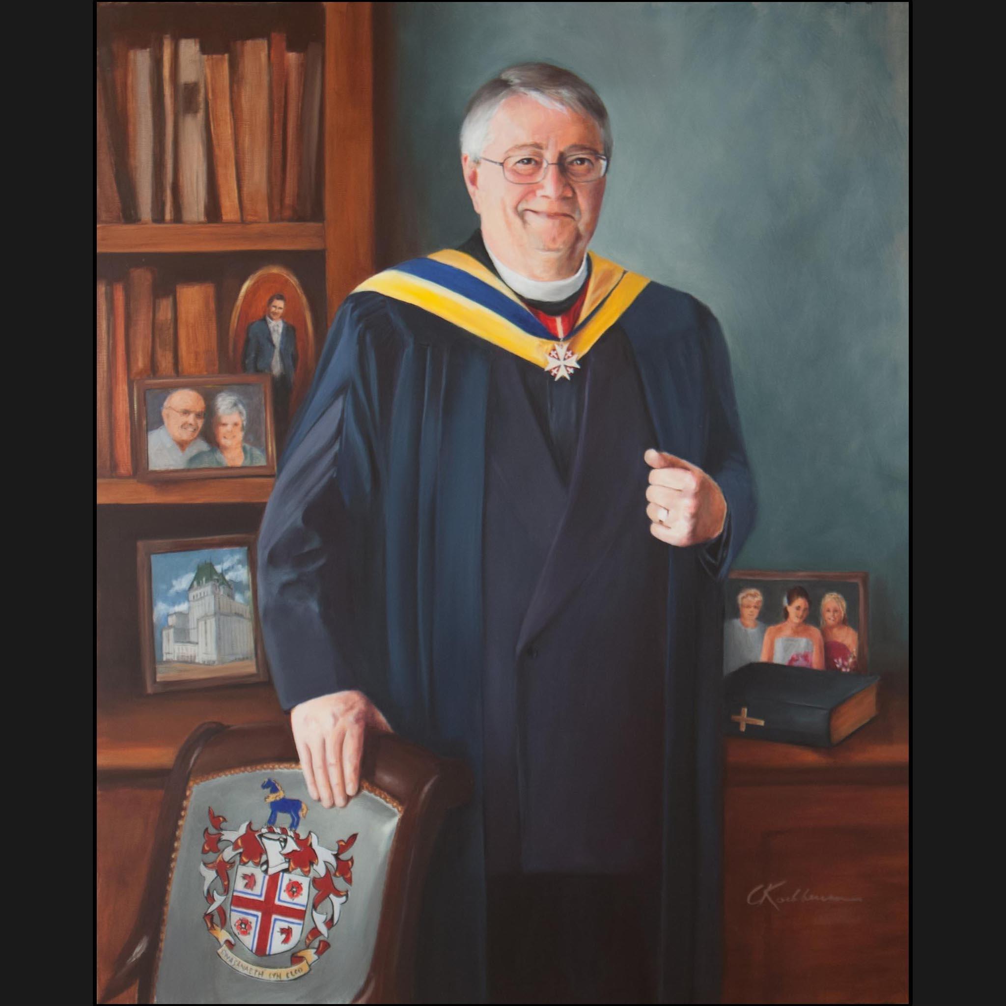 Portrait of Ian Powell